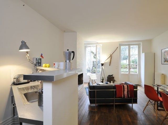 Comment am nager un petit appartement small spaces spaces and interiors for Amenager un petit studio