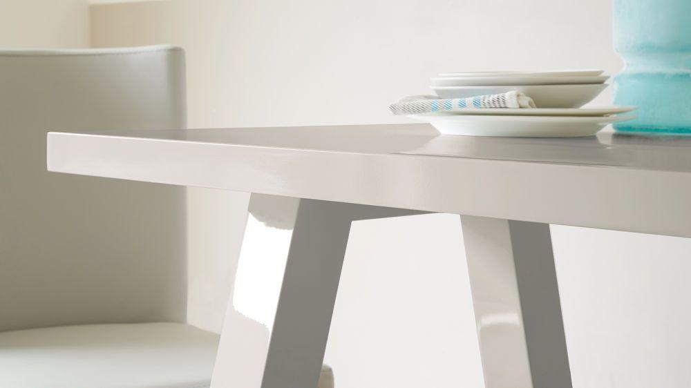 Modern Grey Gloss Dining Table
