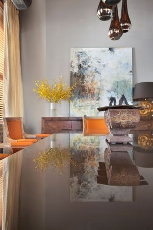Artist Krista Harris Interior Design Tom Stringer Design