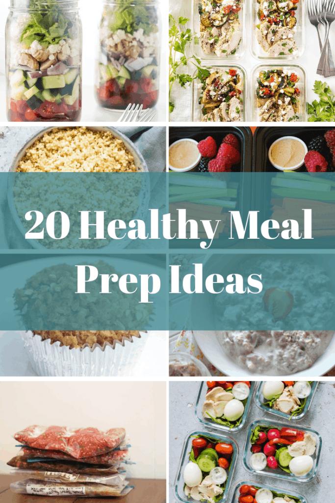 Photo of 20 Healthy Meal Prep Ideas • Prepare Healthy