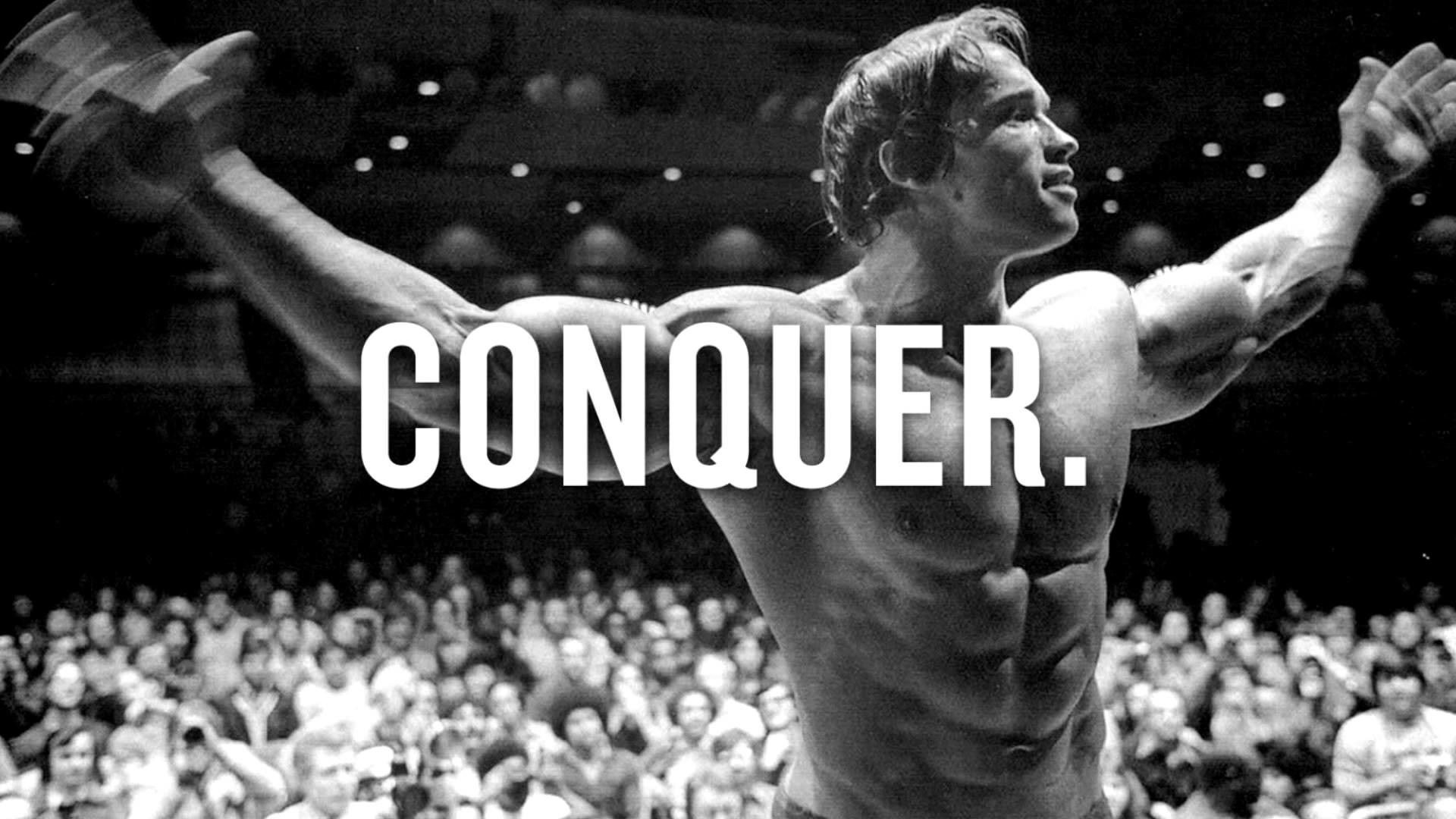 Motivational Quotes For Success In 2020 Bodybuilding Motivation Quotes Conquer Arnold Schwarzenegger Fitness Motivation Videos