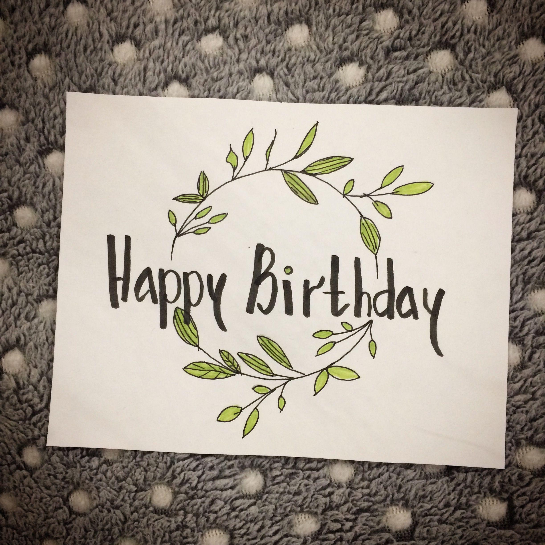 #birthday #birthdaycard #happybirthday #byJM