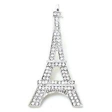 Clearance Sparkly Crystal Rhinestone Eiffel Tower PIN Brooch Sparkle 1741 | eBay