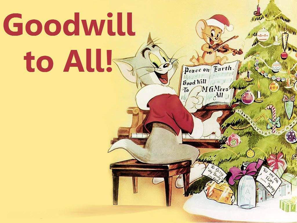 Goodwill To All Tom Jerry Wallpapers Tom Jerry Cartoon
