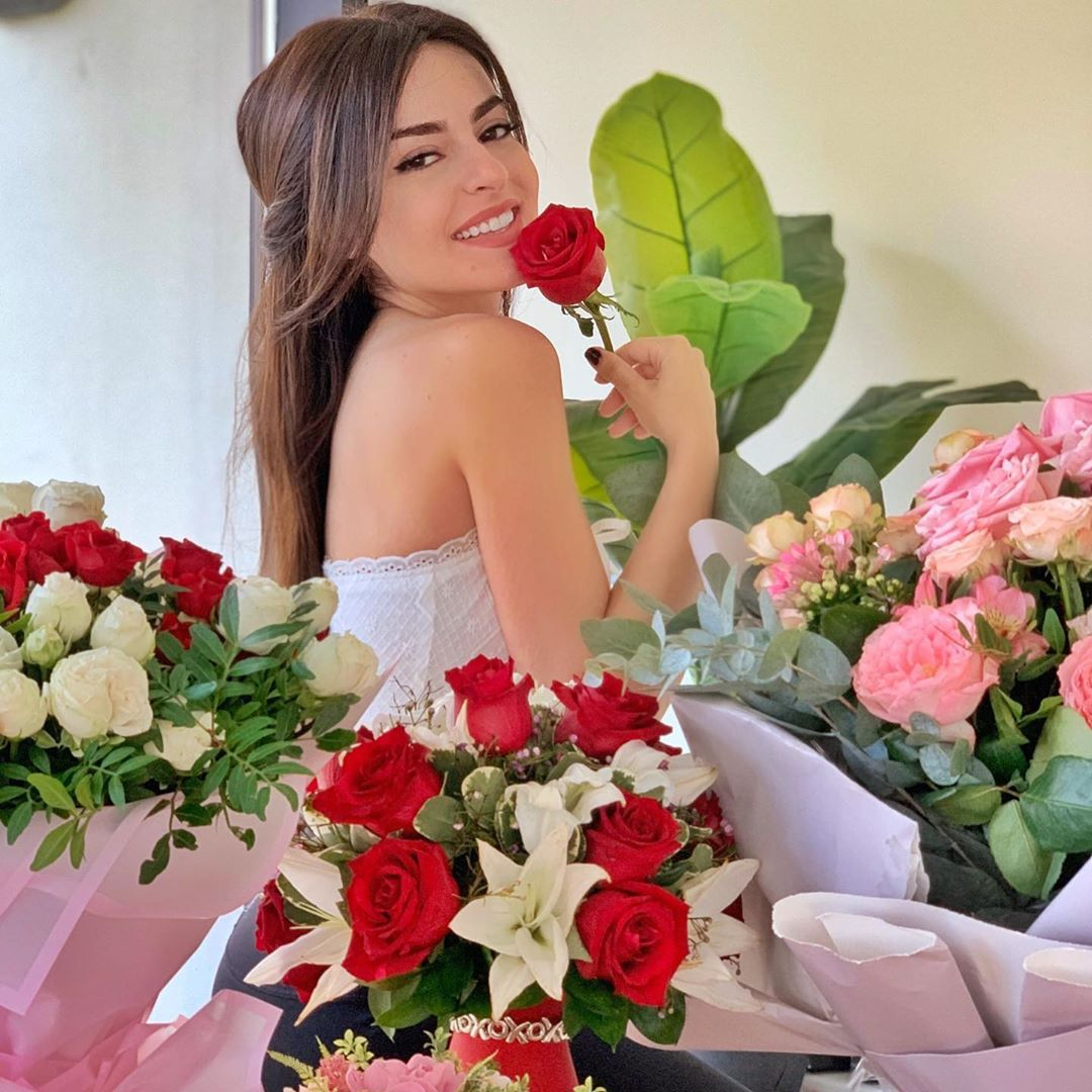 Safa Srour صفا سرور On Instagram Thank You So Much For The Birthday Wishes I Love You Guys بحبكم من ك Wedding Dresses Strapless Wedding Dress Dresses