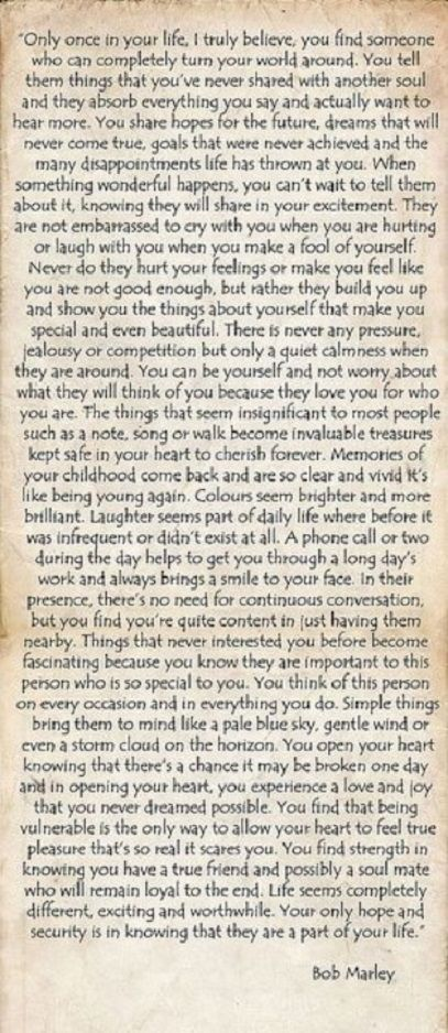 Quote Bob Marley Only Once In Your Life