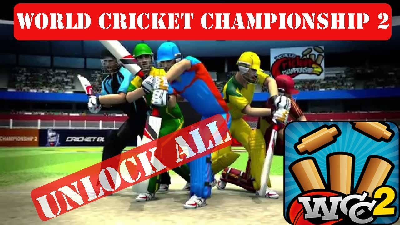 World Cricket Championship 2 Mod Apk Everything Unlocked V2