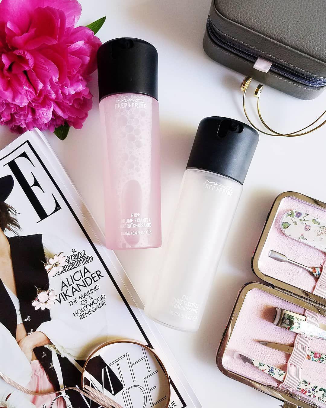 MAC Cosmetics Prep & Prime Fix+ ist the best makeup fixing