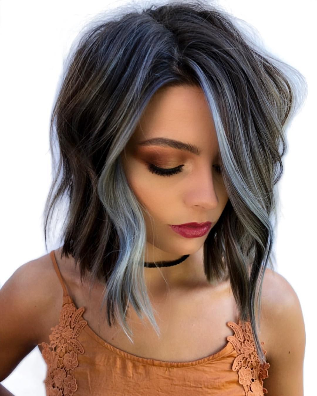 Don T Be Blue It S Friyay Color Deets New Redken Color Gels Lacquer Formula Bas Modern Bob Hairstyles Hair Styles Winter Hairstyles