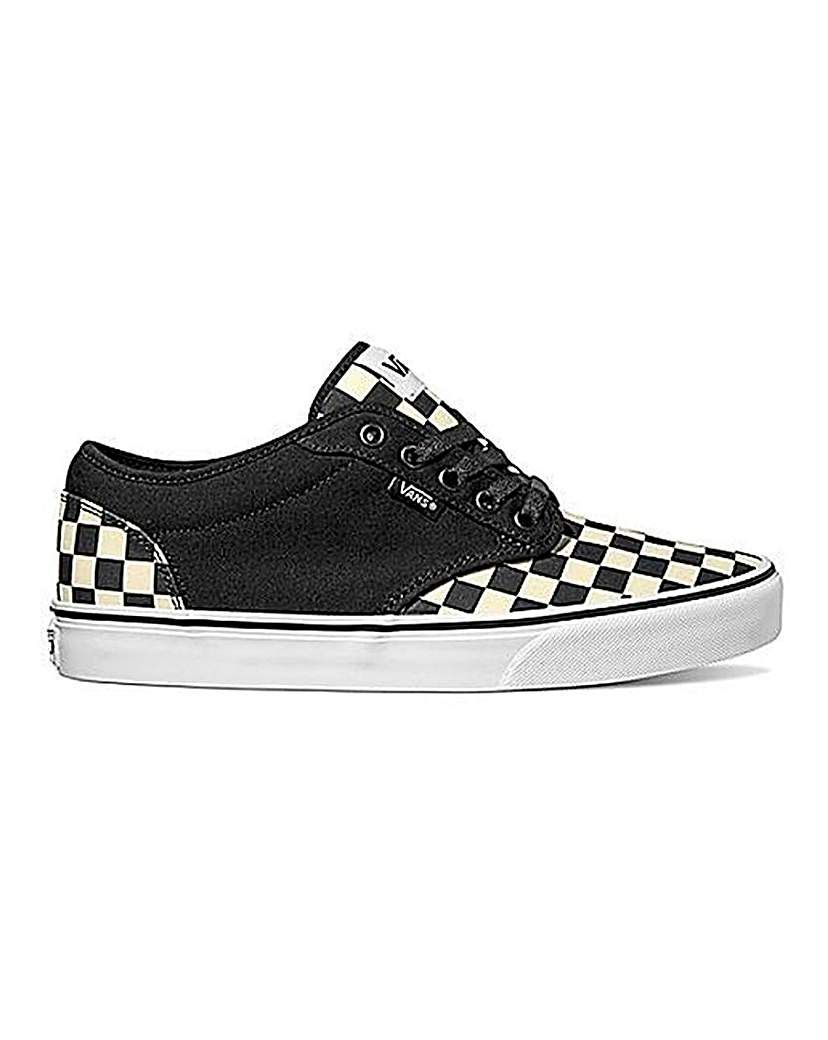 vans atwood checkered