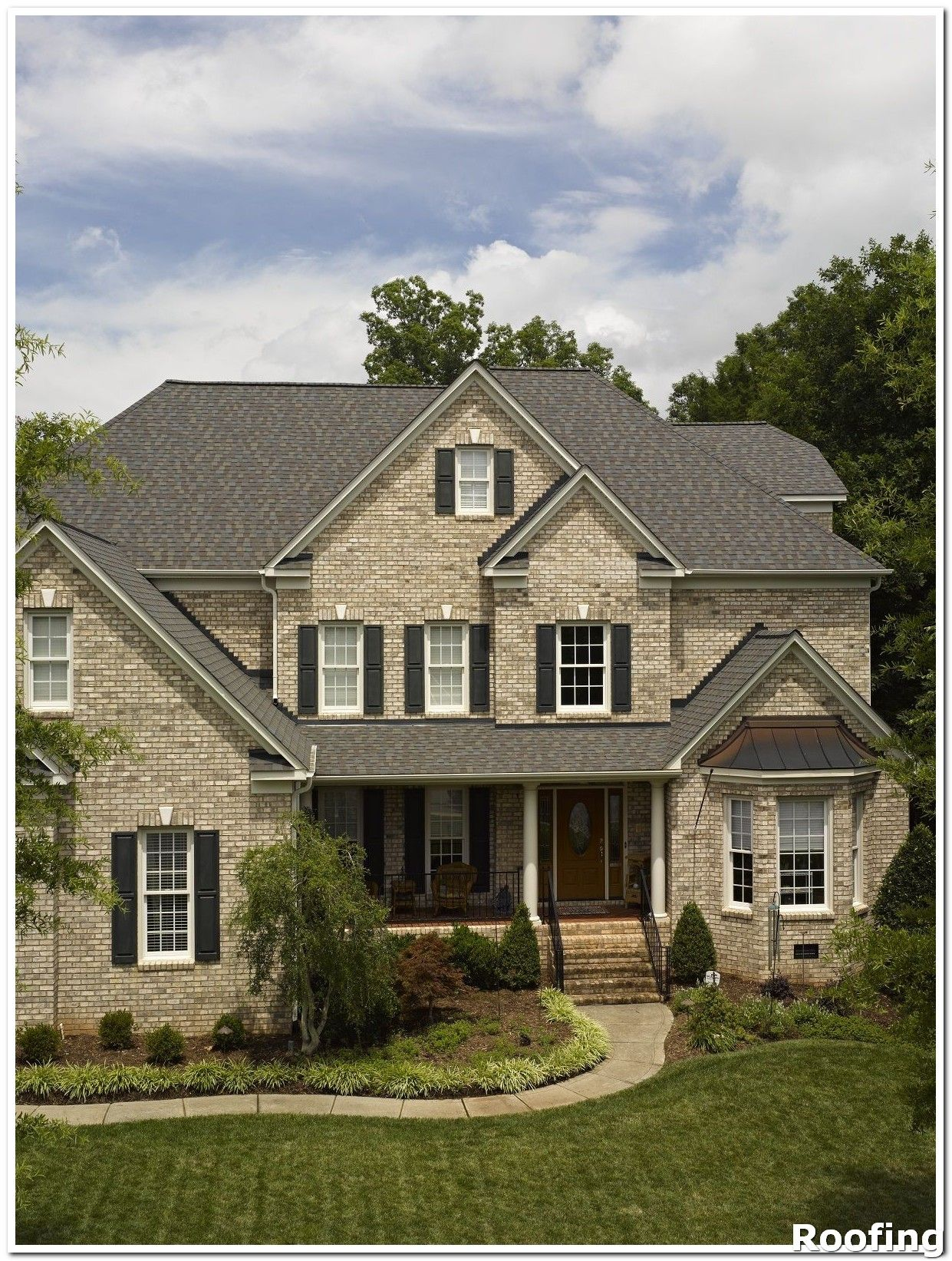 Roofing Shingles Replace Any Missing Shingles As Soon As You Notice That They Have Come Loose On Cape Cod Style House Residential Roofing Shingle Colors