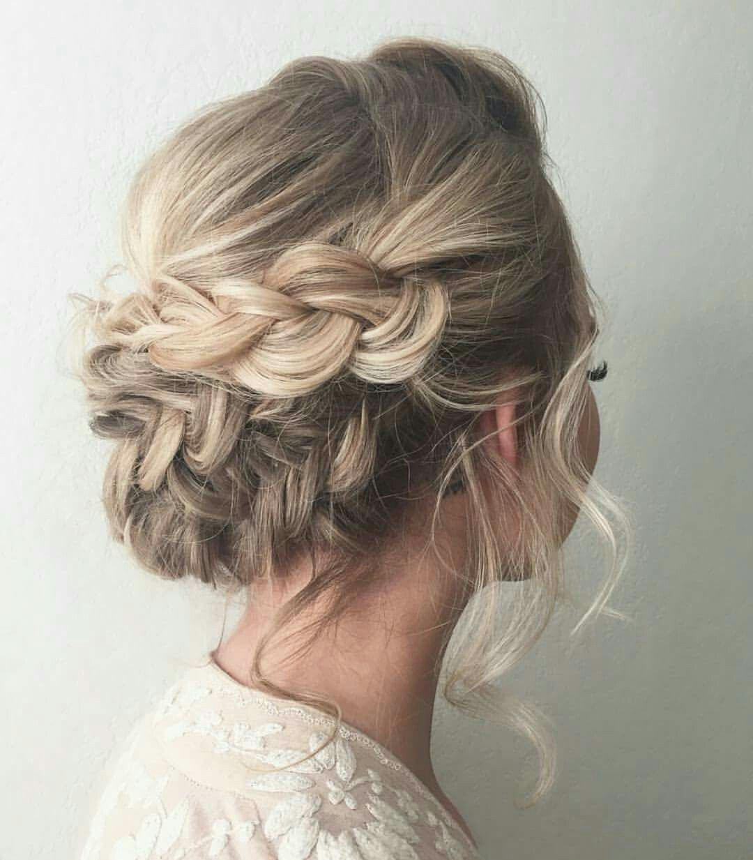 Party Hairstyles Endearing Pinagnieszka On Uroda  Pinterest  Prom Hair Style And Prom Hair