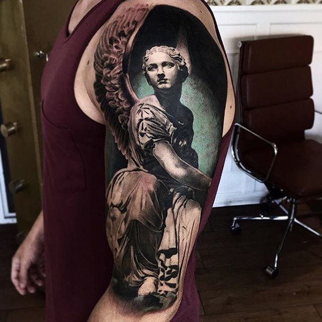 Tattoo by Mark Wosgerau Denmark #tattoos https://t.co/BA6CH2tNxZ Please Re-Pin It!