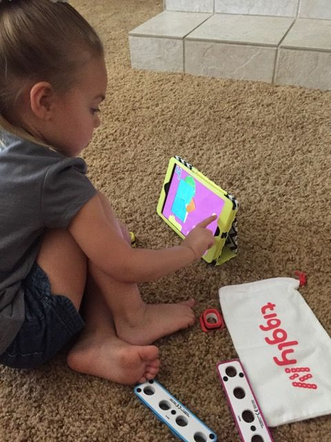 The Real Housewife of Fresno: Introducing Tiggly-Interactive Math app and toys