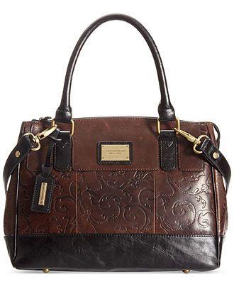 8913c0438 Tignanello Classic Beauty Vintage Leather Status Satchel - Tignanello -  Handbags & Accessories - Macy's