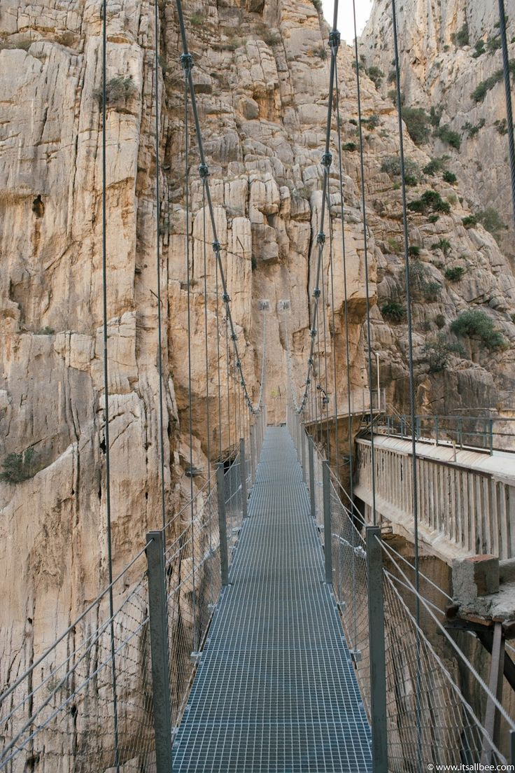 Its All Bee: El Caminito Del Rey | Mountaineering Spain's Most Harmful Climbing Trai.... *** See even more at the photo  Check more at  http://campdotcom.com/learn-some-new-camping-tips-right-here/