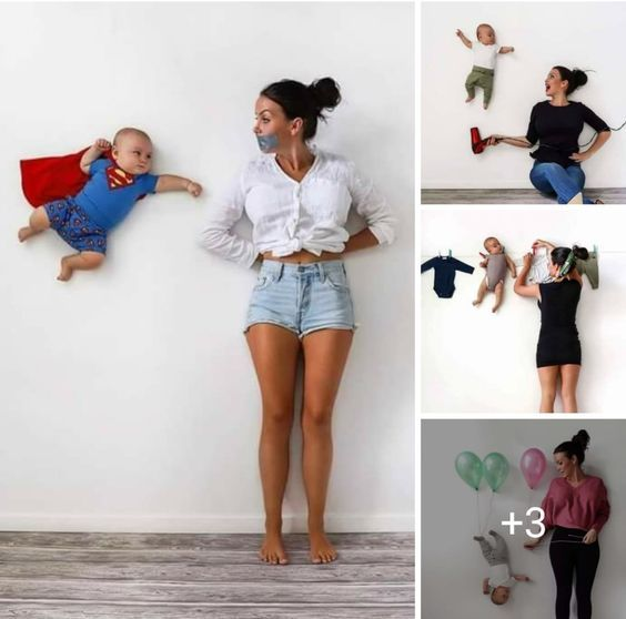 Top Baby Photoshoot Ideas At Home Diy Baby Photoshoot Boy Monthly Baby Photos Baby Photoshoot