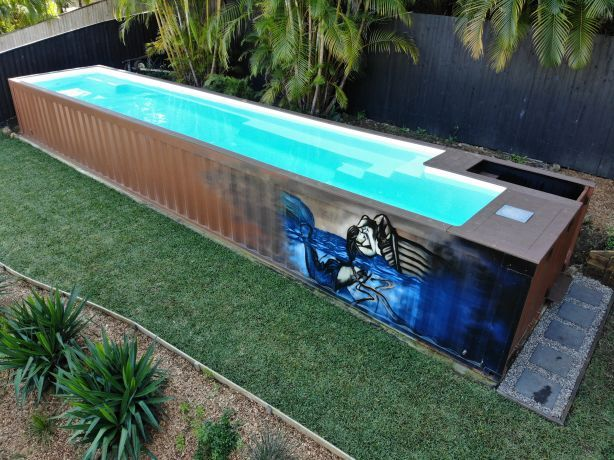 Shipping Containers Offering Wannabe Pool Owners A Slice