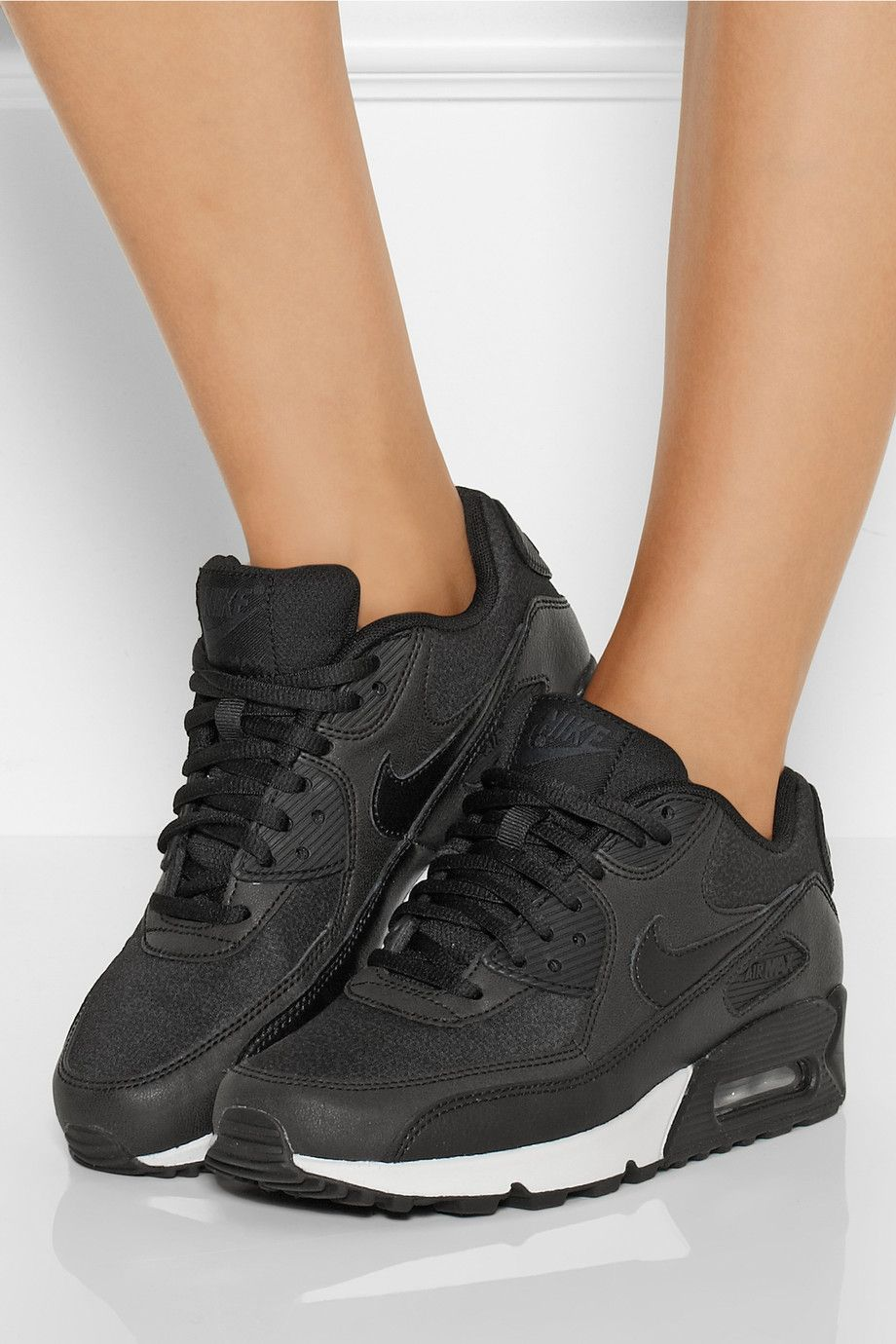 women's black patent leather nike air max 90