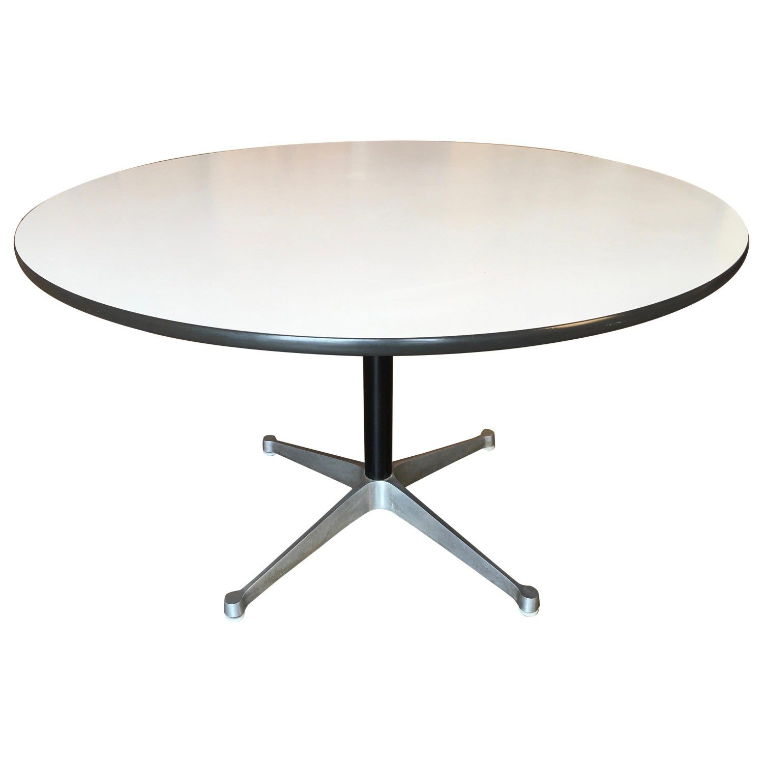 Eames Round Dining Table For Herman Miller 1960s In 2019