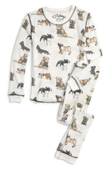 33fe3de6d PJ Salvage  Cool Dogs  Fitted Two-Piece Pajamas (Toddler Girls ...