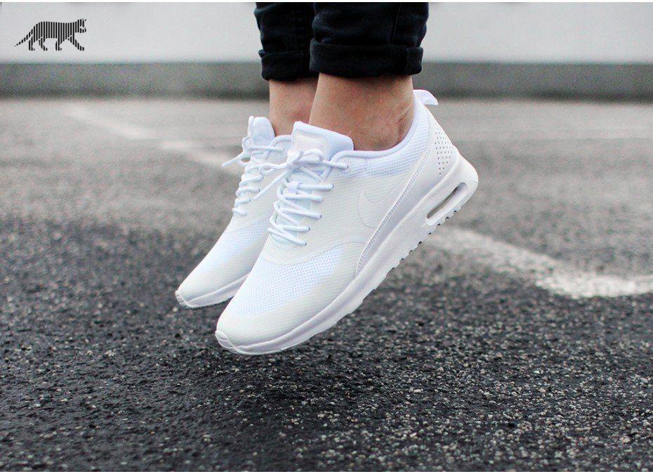 Nike Wmns Air Max Thea (White White) | Zapatos tenis para
