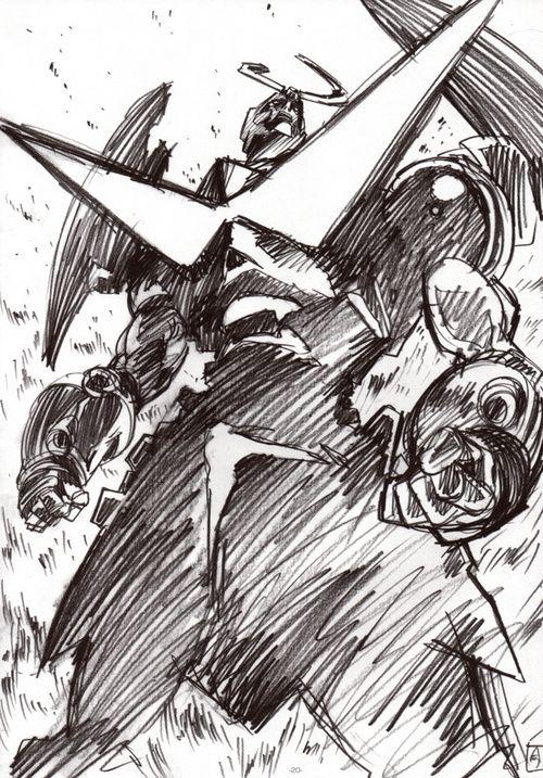 as-warm-as-choco: GURREN LAGANN / Official Art by HIROYUKI...