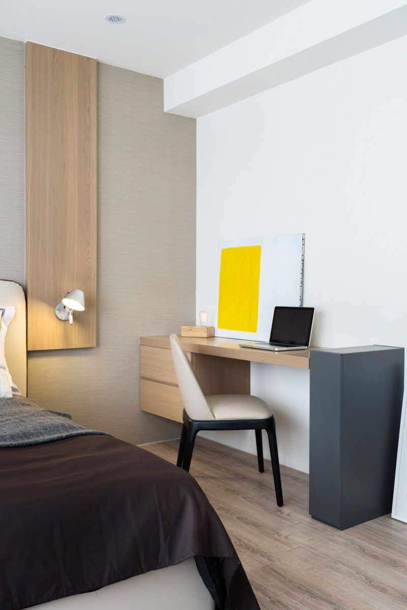 Hotel Guest Room Design: TAICHUNG SIMPLE LIFE On Behance