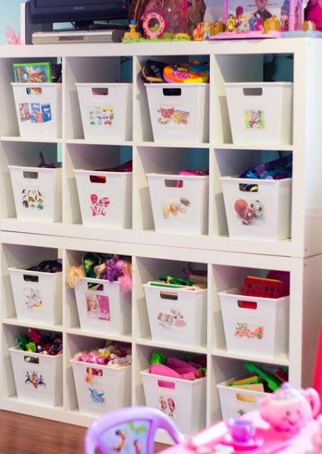 Dollar Tree Bins For Toy Storage Toy Rooms Kids Room Organization Playroom Organization