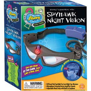 Slinky Science Spyhawk Night Vision Goggles