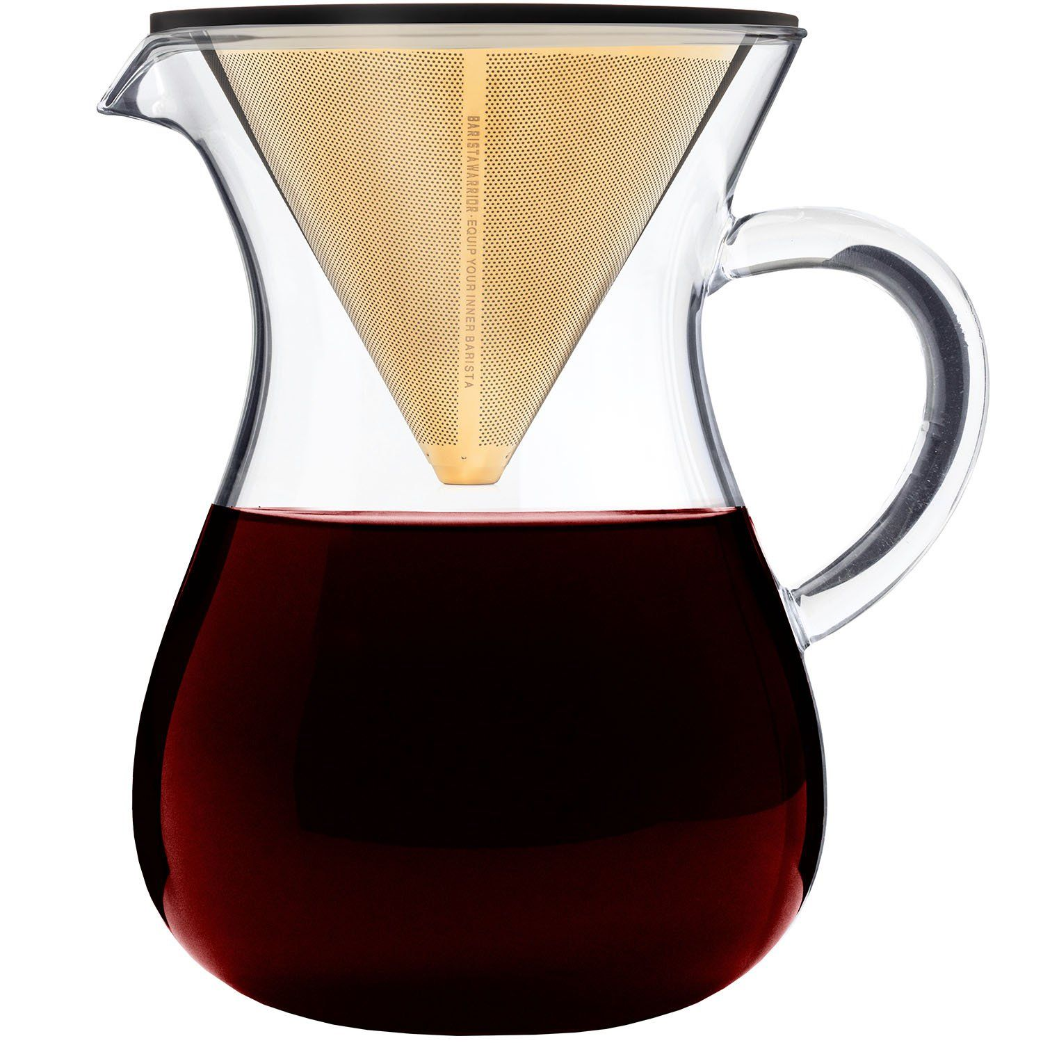 Pour Over Coffee Dripper Maker Set 5 Cup 27 oz