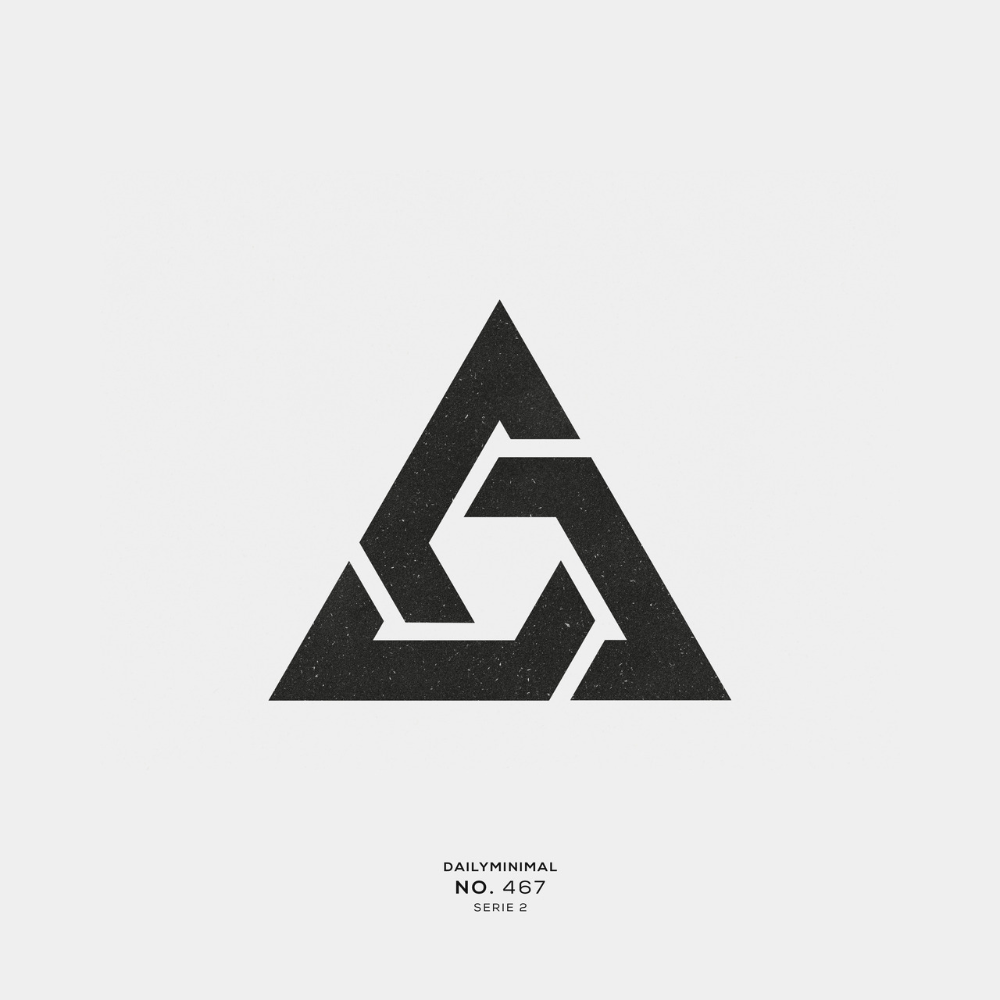 A New Geometric And Minimal Design Every Day Geometric Logo