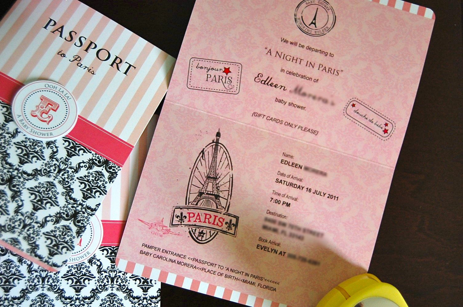 Passport Bedding Accessories Flipawoo Invitation And Party Designs Updated Paris