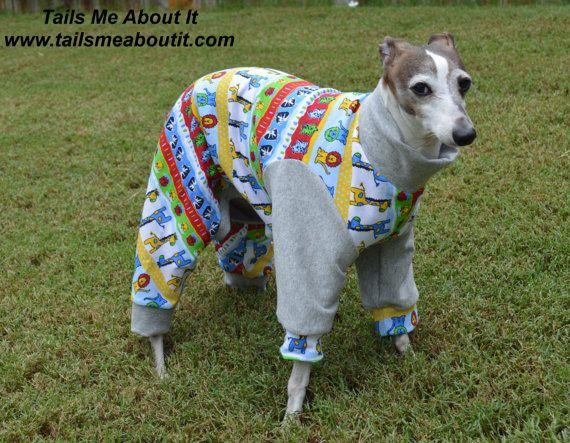 Safari Cotton Dog Pajama Dog Pajamas Dog Clothes Dogs