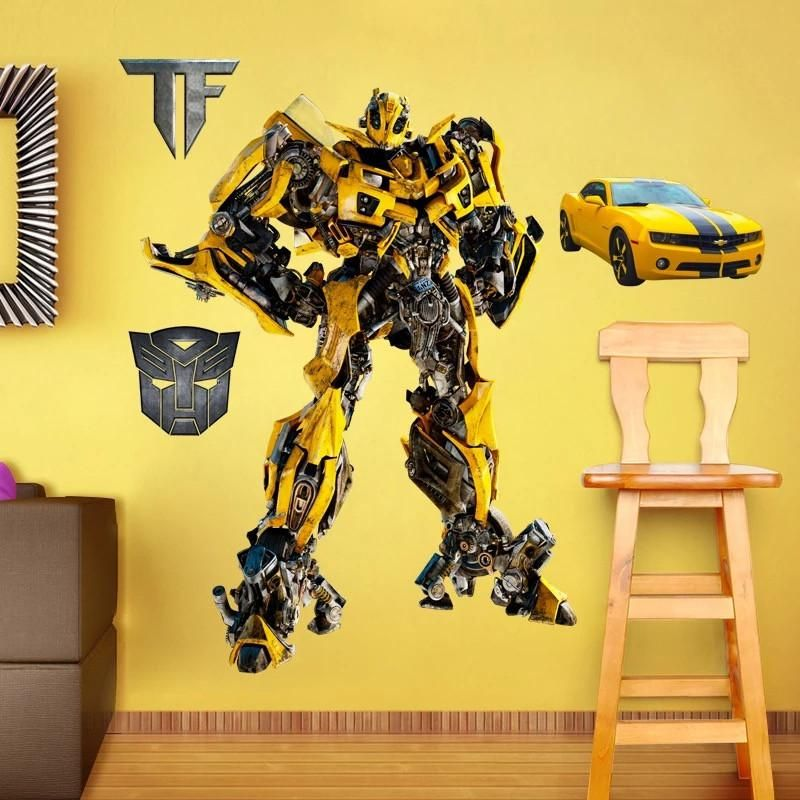 Transformers Bumblebee Wall Stickers – the treasure thrift ...