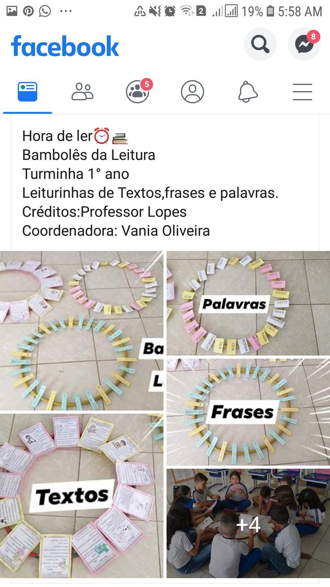 Bambole Da Leitura Em 2020 Atividades Alfabetizacao E Letramento
