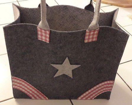Teppich-Tasche nähen | Nähen | Pinterest | Sewing, Handmade und Stitch