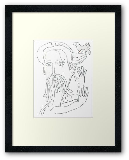 buy jesus with love dove original art drawing by alice iordache by vanyssagraphics as a t shirt classic t shirt tri blend t shirt lightweight hoodie