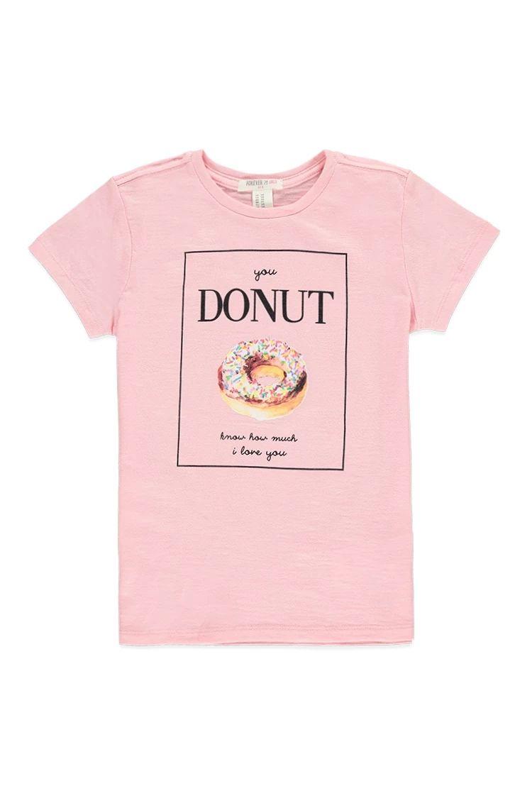 ce39263c4 Girls Donut Graphic Tee (Kids)  f21kids