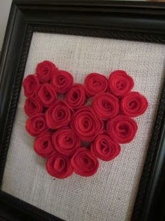Embellishing Life: Framed Heart