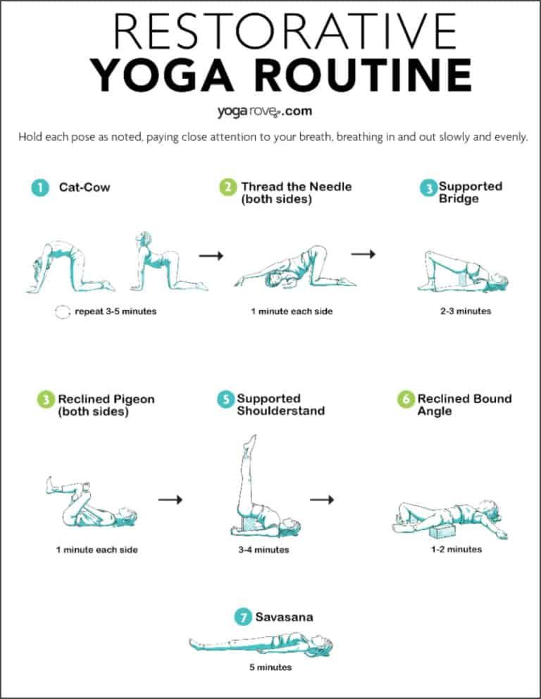 Restorative Yoga Sequence to Relax the Mind and Body | Yoga Rove