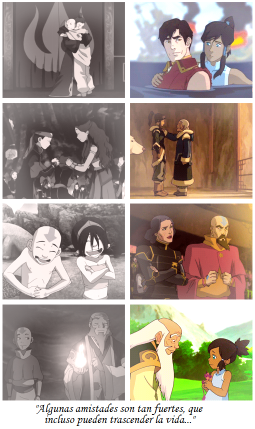 """""""Some friendships can transcend lifetimes..."""" I find it really cool how the sequel proved this"""