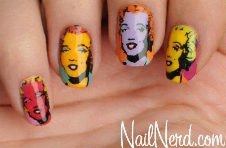 Marilyn Monroe   Nails   Pinterest