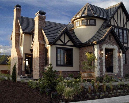 tudor design tudor style home in the stapleton neighborhood so