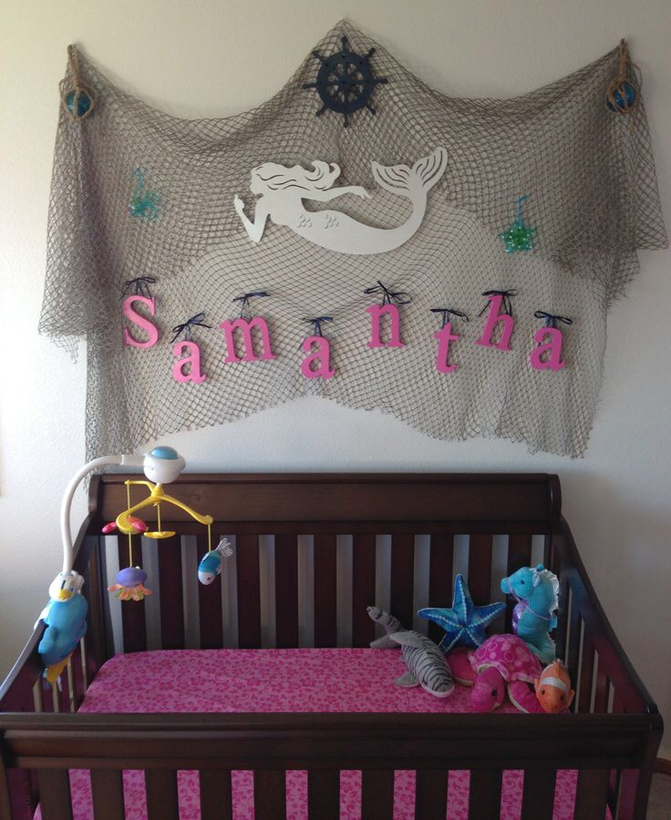 Simple Decorating Girl Nursery Design: Little Mermaid Nursery, Mermaid