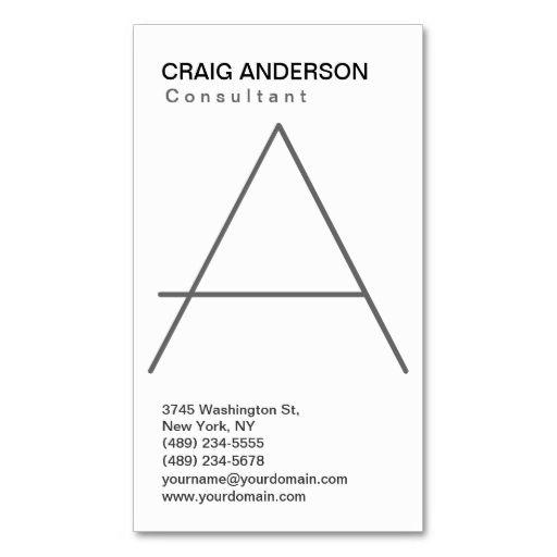Simple trendy cute plain black white business card business cards card templates simple trendy cute plain black white business card make your own reheart Choice Image