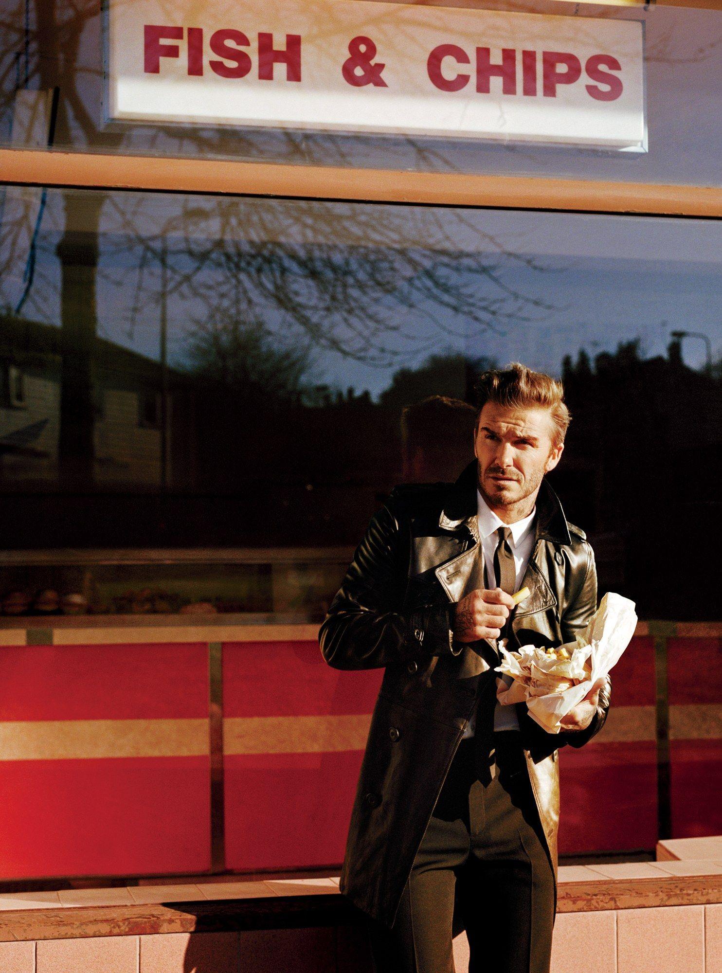 Mens leather gloves gq - Photos David Beckham S Gq Cover Shoot Gq