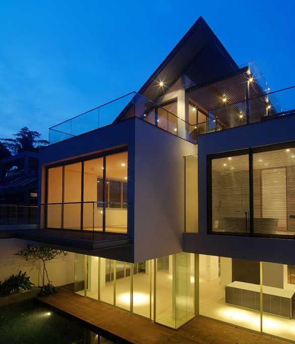 Akta architects houses i like exteriors pinterest for Modern tropical house exterior
