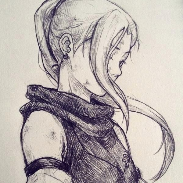 Surprising Draw Anime Cool Fantasy Drawings Character Sketch Anime Sketch
