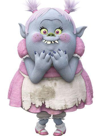 Тихоня (Bridget) — персонаж мультфильма «Тролли» (Trolls ...